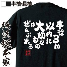 tシャツ メンズ 俺流 魂心Tシャツ【半径3m以内に 大切なものは ぜんぶある】ダイエット メッセージtシャツおもしろ雑貨 お笑いTシャツ|おもしろtシャツ 文字tシャツ 面白いtシャツ 面白 大きいサイズ 送料無料 文字入 日本 おもしろ プレゼント
