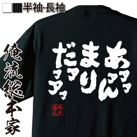 tシャツ メンズ 俺流 魂心Tシャツ【あァァァんまりだァァアァ】漢字 文字 メッセージtシャツおもしろ雑貨 お笑いTシャツ|おもしろtシャツ 文字tシャツ 面白いtシャツ 面白 大きいサイズ 送料無料ジョジョ 奇妙な冒険 漫画 少年 コミック