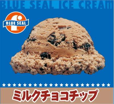 【業務用】ブルーシールアイス アイスクリーム 沖縄限定 4リットル ビッグ 内祝い あす楽 ミルクチョコチップ
