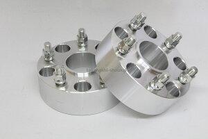 5穴 PCD120.65 70.3mm ハブリング有 ワイドトレッドスペーサー 2枚 厚さ:50.8mm ねじサイズM12-1.5コルベット(1990年〜)カマロ(1993年〜2003年)