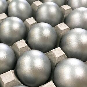 くんせいたまご(銀)10個入り『シルバーエッグ』銀の卵  燻製たまご くんたま 銀玉  金銀銅の卵 保存食