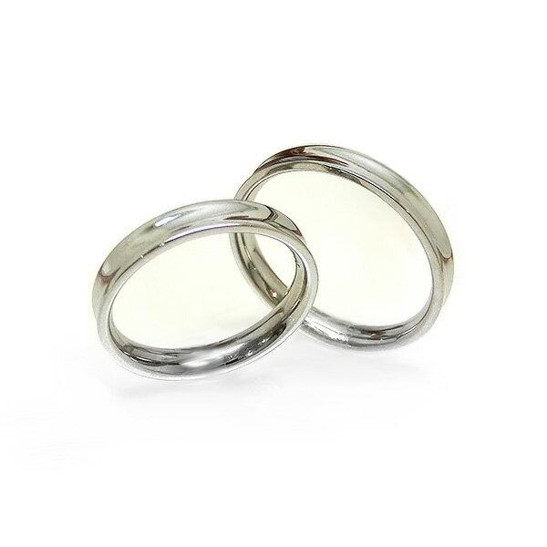 チタンリング ペアリング 2本セット 刻印無料 アレルギーフリー 即納 レディース メンズ マリッジリング 結婚指輪 金属アレルギー ジュエリー 刻印可能 大きいサイズ 太い