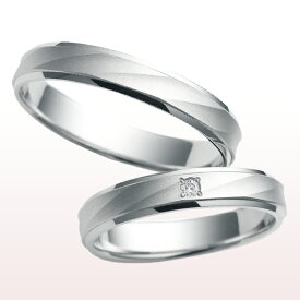 指輪 PT900(プラチナ) ダイヤモンド(4月誕生石) リング ペアリング 天然石 ダイヤ cn-957【S.O】 CITIZEN(シチズン) nocur(ノクル) 女性用 刻印無料 ladys:cn-957 mens:cn-947(ND) クリスマス