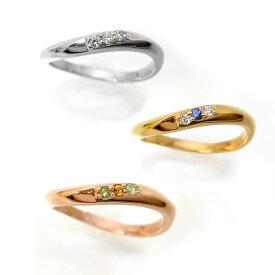 【1本単体】ペアリング マリッジリング 結婚指輪 レディース メンズ ニッケルフリー 10金 ダイヤモンド 1号から29号 yk308 (yk307set) お返し