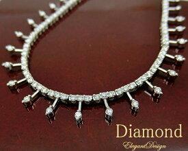 ネックレス ペンダント ダイヤモンド 4月誕生石 K18WG 18金ホワイトゴールド yoji0258980 天然石 ネックレス ジュエリー 宝石 ダイアモンド 初売り 正月 即納 間に合う 急ぎ