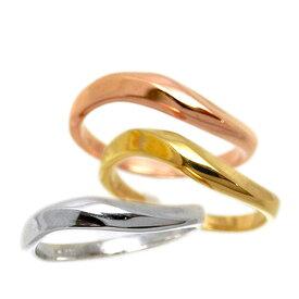 【セミオーダー】K10 リング 指輪 シンプル ペアリング 10金 1号から29号 yk304(t911) (yk304set)地金リング 入学 祝い お返し 春