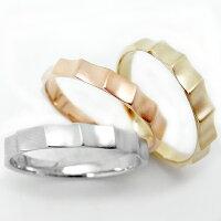 完全オーダーK10PG10金ピンクゴールドK10WGホワイトゴールドK10YGイエローゴールドリング指輪ファッションリングペアリング地金ジガネつや消しメッセージ入りプレゼントギフトyk-146メンズレディース