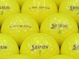 【ABランク】【ロゴなし】スリクソン TRI-STAR 2014年モデル プレミアムパッションイエロー 1個 【あす楽】【ロストボール】【中古】