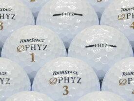 【ABランク】【ロゴなし】ツアーステージ PHYZ 2011年モデル ホワイト 30個セット 【あす楽】【ロストボール】【中古】