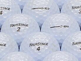 【ABランク】【ロゴなし】ツアーステージ S100 パールホワイト 1個 【あす楽】【ロストボール】【中古】