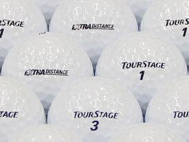 【ABランク】【ロゴなし】ツアーステージ EXTRA DISTANCE 2014年モデル ホワイト 100個セット 【あす楽】【ロストボール】【中古】