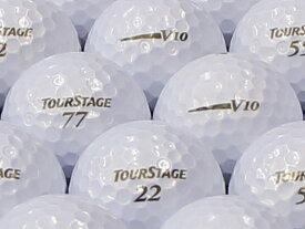 【ABランク】【ロゴあり】ツアーステージ V10 2012年モデル パールホワイト 1個 【あす楽】【ロストボール】【中古】