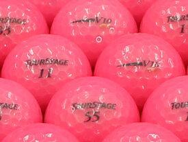 【ABランク】【ロゴなし】ツアーステージ V10 2012年モデル CLスーパーピンク 1個 【あす楽】【ロストボール】【中古】
