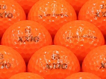 【ABランク】【ロゴなし】ゼクシオ XD-AERO プレミアムパッションオレンジ 1個 【あす楽】【ロストボール】【中古】