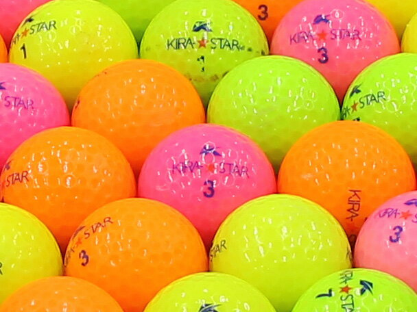 【Bランク】キャスコ KIRA★STAR 2010年モデル カラー混合 1個 【あす楽】【ロストボール】【中古】