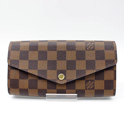 【LOUIS VUITTON】ルイヴィトン ダミエ ポルトフォイユ・サラN63209【新古品・未使用】