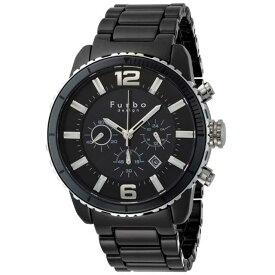 Furbo Design/フルボデザインソーラー式 ブラックセラミック腕時計 FS405CSBK【新品】