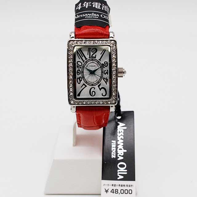 Alessandra Olla(アレッサンドラオーラ) レディース ジュエリー腕時計 AO-1500-1RE 新品