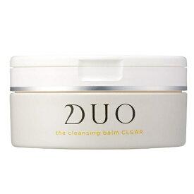 【送料無料】【あす楽】DUO デュオ ザ クレンジングバーム クリア 90g クレンジング 洗顔 角質ケア グレープフルーツの香り