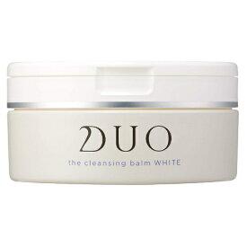 【あす楽】DUO デュオ ザ クレンジングバーム ホワイト 90g クレンジング 洗顔 角質ケア カミツレ花精油の香り