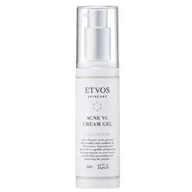 【定形外郵便 送料無料】ETVOS 医薬部外品 ニキビ用美容液 薬用 アクネVCクリームジェル 50g