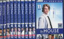 Dr.HOUSE ドクター・ハウス シーズン1【全11巻セット】【字幕・吹替え】【中古】全巻