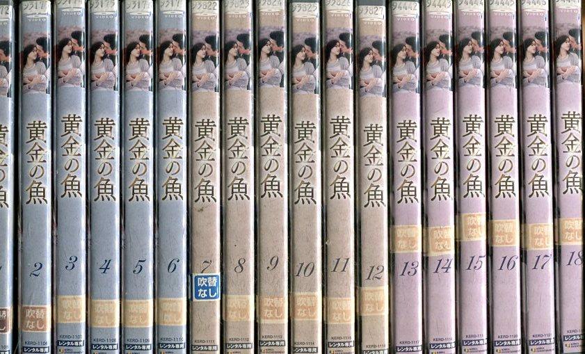 黄金の魚【全33巻セット】【吹替え無し】イ・テゴン【中古】全巻【洋画】
