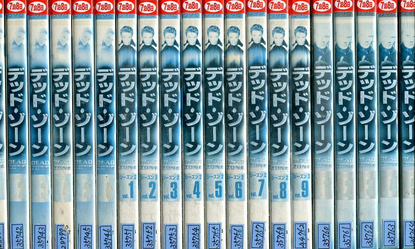 デッド・ゾーン DEAD ZONE シーズン1〜6【全38巻セット】【字幕・吹替え】【中古】全巻【洋画】