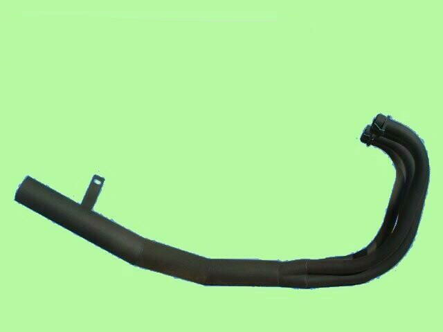 XJR400(〜97年式) ショート管マフラー(黒) YAMAHA ヤマハ
