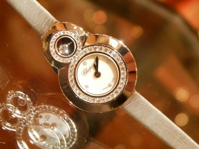 【新品】ショパールChopardハッピーダイヤモンド204412-1001腕時計/女性/レディース/Lady's/時計/ウオッチ/うでどけい/watch/高級/ブランド【送料無料】