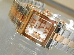 【新品】ショパールChopardハッピースポーツ278516-6002腕時計/女性/レデイース/Lady's/時計/ウオッチ/うでどけい/watch/高級/ブランド