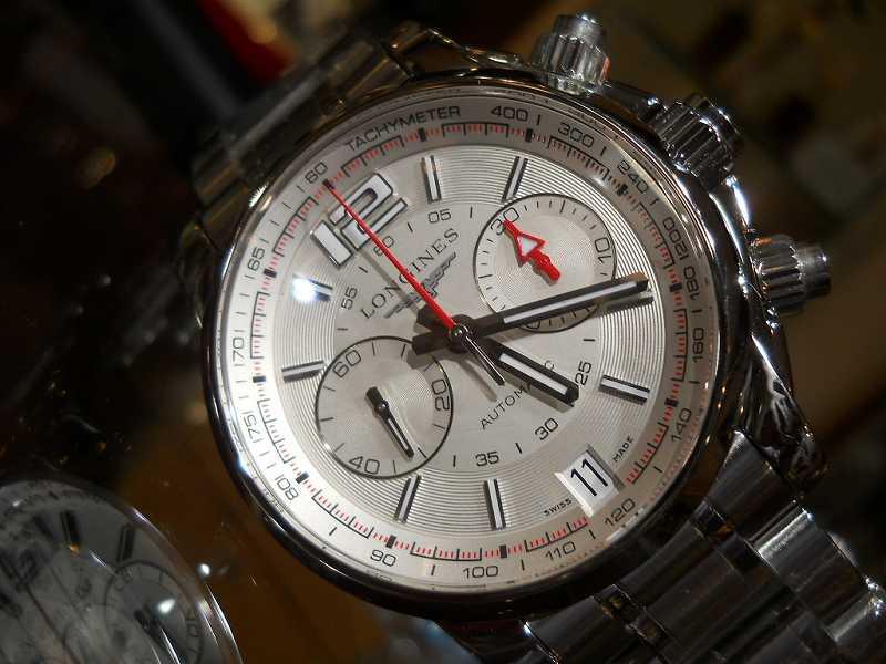 【正規品/新品】ロンジン LONGINES アドミラルタキメーター L3.666.4.76.6/腕時計/男性/メンズ/Men's/時計/ウォッチ/watch/高級/ブランド【送料無料】