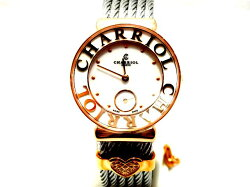 【新品】シャリオールCHARRIOLサントロぺレディースST30PC.560.020S腕時計/女性/レディース/Lady's/時計/ウォッチ/うでどけい/watch/高級/ブランド