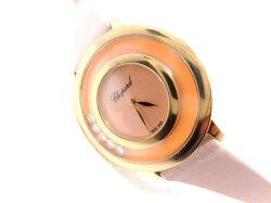 【新品】ショパールChopardハッピーダイヤモンド209429-5106ダイヤ5石0.25ct/腕時計/女性/レディース/Lady's/時計/ウォッチ/うでどけい/watch/高級/ブランド【送料無料】