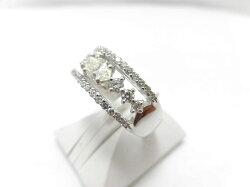 PTダイヤリング/0.496ct0.53ctSI1/G281/ダイヤモンドリング/指輪/ゆびわ/ring/ジュエリー/ダイヤ/女性用/レディース/プレゼント/ギフト/お買い得/オススメ/送料込み/宝石