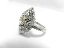PTダイヤダイヤリング/F4697/マーキスダイヤ1.67ctダイヤ0.404ct/リング/指輪/ゆびわ/ring/ジュエリー/女性用/レディース/プレゼント/ギフト/お買い得/オススメ/送料込み/宝石