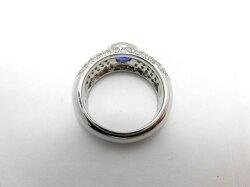 PTサファイアダイヤリング/S1.30ctD1.14ct/D709/リング/ダイヤモンドリング/指輪/ゆびわ/ring/ジュエリー/ダイヤ/女性用/レディース/プレゼント/ギフト/お買い得/オススメ/送料込み/宝石