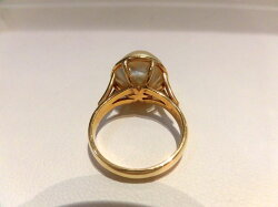 K18南洋真珠トルマリンリング/B9363B9667/パール12.3mm/指輪/ゆびわ/ring/ジュエリー/ダイヤ/女性用/レディース/プレゼント/ギフト/お買い得/オススメ/送料込み/宝石