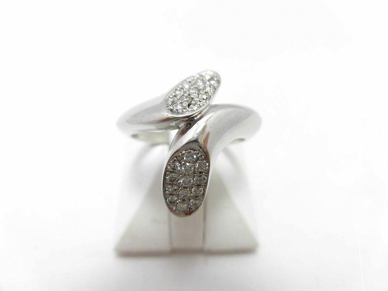 【50%Off】K18WGダイヤリング F9696/D0.26ct/\228,000⇒\114,000/ダイヤモンドリング/指輪/ゆびわ/ring/ジュエリー/ダイヤ/女性用/レディース/プレゼント/ギフト/お買い得/オススメ/送料込み/宝石