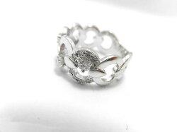 K18WGダイヤリングF9698/D0.41ct/ダイヤモンドリング/指輪/ジュエリー/ダイヤ/レディース/プレゼント/ギフト/お買い得/オススメ/送料込み/宝石