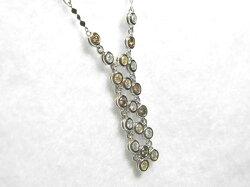 18KWGダイヤモンドネックレス/ネックレス/ねっくれす/ジュエリー/女性用/レディース/プレゼント/ギフト/お買い得/オススメ/送料込み/宝石