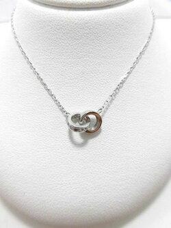 K18WGダイヤペンダント/0.10ct/長さ46cm/G1463/ダイヤネックレス/ジュエリー/女性用/レディース/プレゼント/ギフト/お買い得/オススメ/送料込み/宝石
