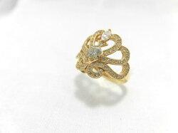 k18ダイヤリングF9690/リング/ダイヤモンドリング/指輪/ゆびわ/ring/ジュエリー/ダイヤ/女性用/レディース/プレゼント/ギフト/お買い得/オススメ/送料込み/宝石
