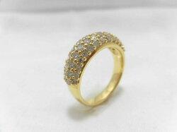 K18ダイヤリングG99/リング/ダイヤモンドリング/指輪/ゆびわ/ring/ジュエリー/ダイヤ/女性用/レディース/プレゼント/ギフト/お買い得/オススメ/送料込み/宝石