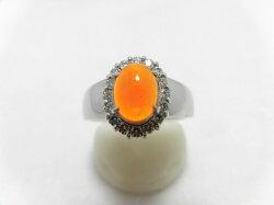 PTメキシコオパールダイヤリングF302/MO0.62ct/D0.229ct/リング/ダイヤモンドリング/指輪/ジュエリー/ダイヤ/女性用/レディース/プレゼント/ギフト/お買い得/オススメ/送料込み/宝石
