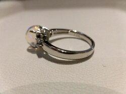PTメキシコオパールダイヤリング/オパール2.01ctD0.31ct/リング/指輪/ゆびわ/ring/ジュエリー/女性用/レディース/プレゼント/ギフト/お買い得/オススメ/送料込み/宝石