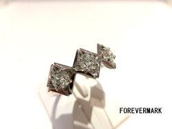 【30%Off】FOREVERMARK/PTダイヤモンドリング/F9306/D0.19ct×3/リング/指輪/ゆびわ/ring/ジュエリー/女性用/レディース/プレゼント/ギフト/お買い得/オススメ/送料込み/宝石