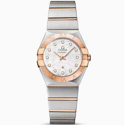 【正規品/新品】レディース腕時計,オメガコンステレーション[OMEGAConstellation]Ref,123.20.27.60.55.006
