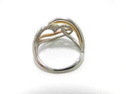 K18YG・WGダイヤモンドリング/0.20ct/G1574/リング/指輪/ゆびわ/ring/ジュエリー/ダイヤ/女性用/レディース/プレゼント/ギフト/お買い得/オススメ/送料込み/宝石