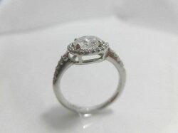 Ptダイヤモンドリング/D1.145ct0.23ct//D・SI2・VG/リング/指輪/ゆびわ/ring/ジュエリー/女性用/レディース/プレゼント/ギフト/お買い得/オススメ/送料込み/宝石